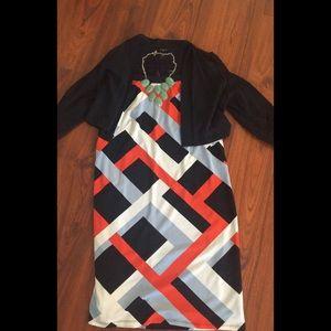 Ann Taylor Petite Sleeveless Dress
